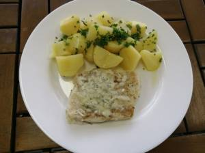 Rybí filé zapečené se sýrem