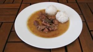 Husitská směs ( vepřové maso, játra, klobása, žampiony )