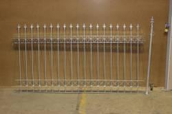 kovaný plotový díl