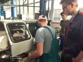 Odborná praxe studentů oboru strojírenství