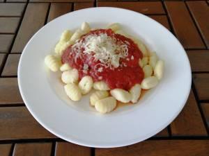 Gnocchi v rajčatové omáčce
